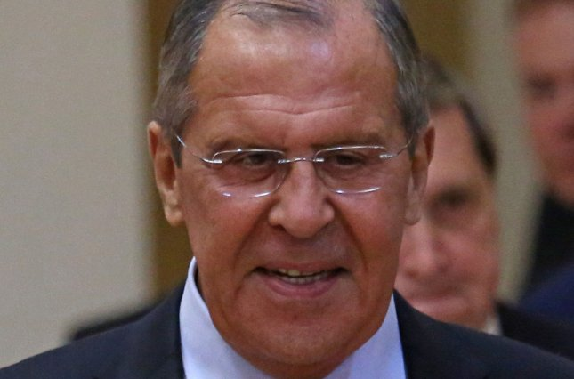 Russian Foreign Minister Sergey Lavrov arrived in China on Monday. File Photo by David Silpa/UPI