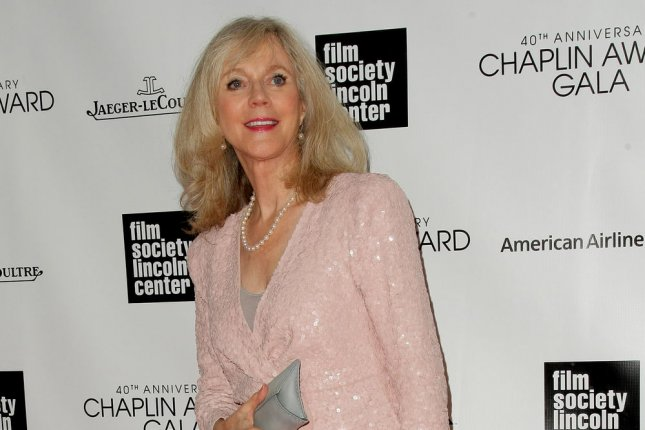 Blythe Danner arrives at the 40th Annual Chaplin Award Gala where Barbra Streisand is being honored at Lincoln Center on April 22, 2013 in New York City. UPI/Monika Graff