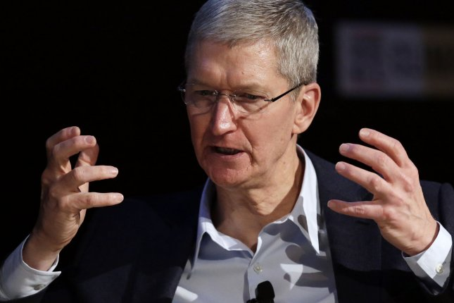 Apple CEO Tim Cook says collecting user data for monetary gain is 'wrong.' Tells those at EPIC 2015 on June 1 that it's not the kind of company that Apple wants to be. Photo by John Angelillo/UPI