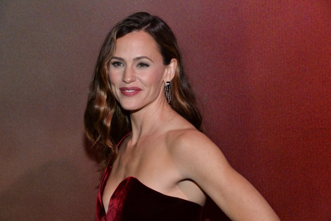 Jennifer Garner shared a picture Tuesday of her transformation for a film that fell through. File Photo by Jim Ruymen/UPI