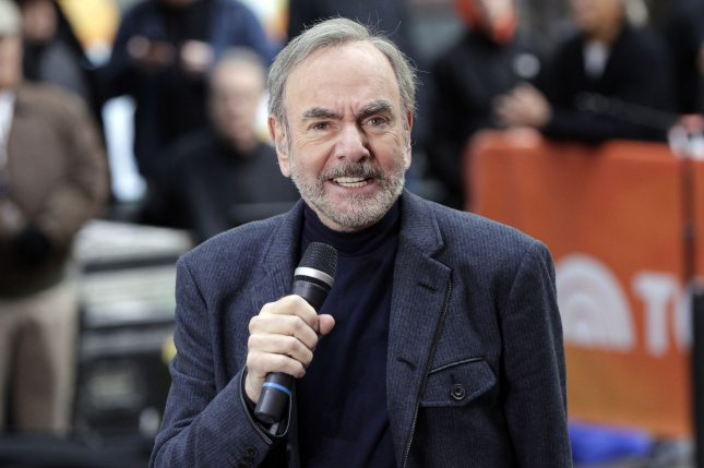 Neil Diamond has received well wishes from fans fellow musicians after announcing that he has Parkinson's disease. File Photo by John Angelillo/UPI