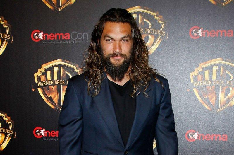 Jason Momoa stars in the new trailer for Aquaman alongside Amber Heard and Nicole Kidman. File Photo by James Atoa/UPI