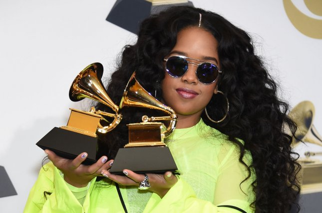 H.E.R. will deliver special audio messages on iHeartRadio stations in celebration of Black Music Month. File Photo by Gregg DeGuire/UPI