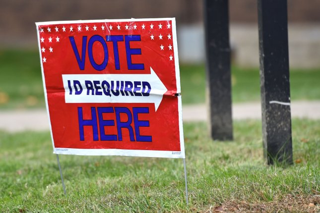 Some candidates said they've been unable to go door-to-door to encourage voters to show up on election day because of coronavirus lockdown orders. File Photo by Kevin Dietsch/UPI