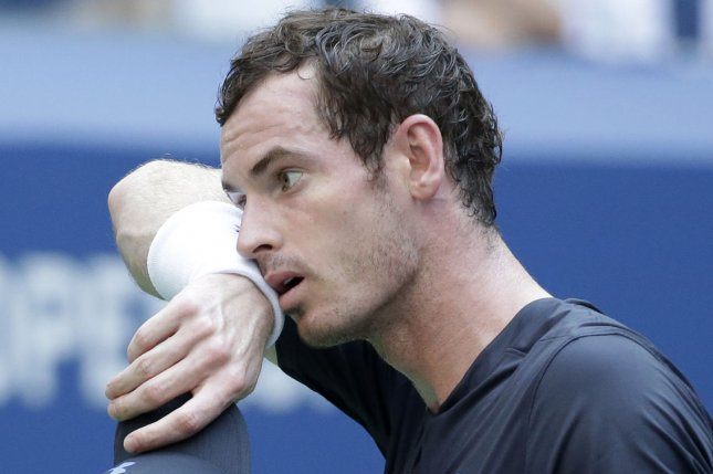 Andy Murray still hopes to participate in the 2021 Australian Open and to be granted permission to arrive in Melbourne, Australia, later than other competitors after he tested positive for COVID-19. File Photo by John Angelillo/UPI