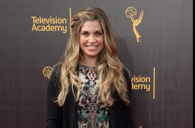 Danielle Fisher announced on her 40th birthday that she is expecting another son. File Photo by Jim Ruymen/UPI