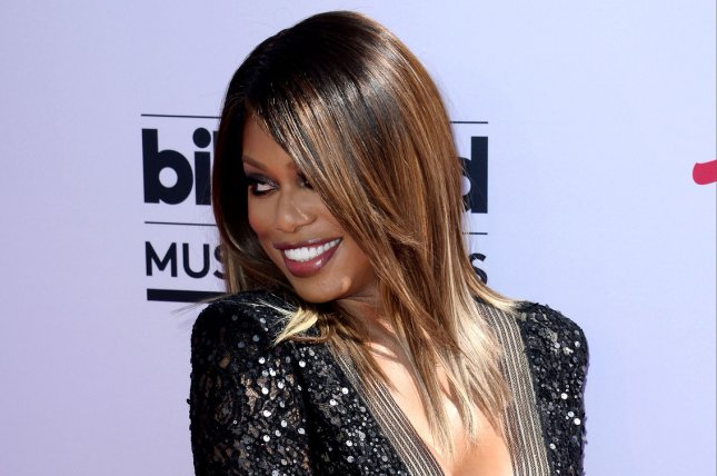 Emmy presenter Laverne Cox attends the annual Billboard Music Awards in Las Vegas on May 22, 2016. File Photo by Jim Ruymen/UPI