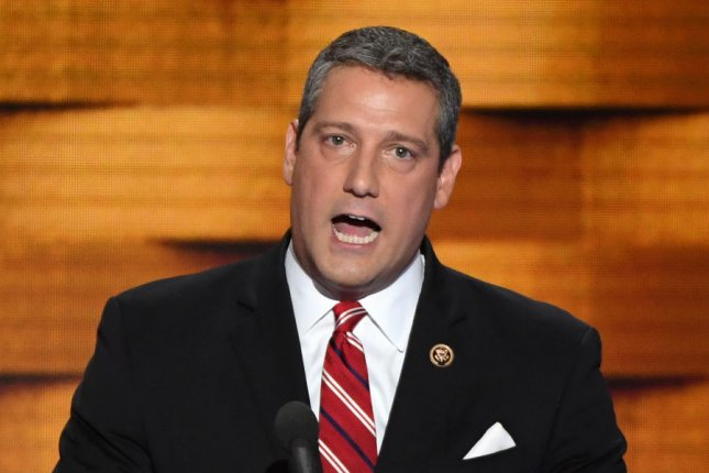 Rep. Tim Ryan, D-Ohio, announced on Thursday he will try and take over the Democrats' leadership post in the House of Representatives from Nancy Pelosi, who has held the role for more than a decade. Ryan said he was compelled to challenge Pelosi after evaluating last week's devastating election losses for the party. File Photo by Pat Benic/UPI