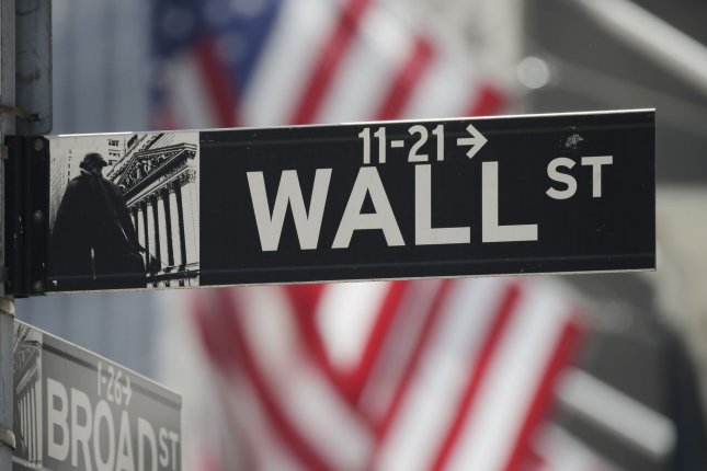 The Nasdaq Composite and S&P 500 rose to record highs on Monday as tech stocks including Facebook and Nvidia surged. Photo by John Angelillo/UPI