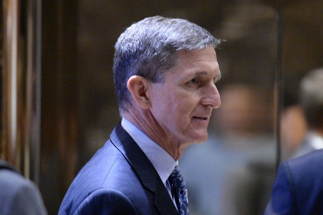 Ranking members of the House Oversight Committee said there was no evidence former U.S. national security adviser Michael Flynn complied with the law over payments he received while in Russia. File Photo by Andrew Harrer/UPI/Pool