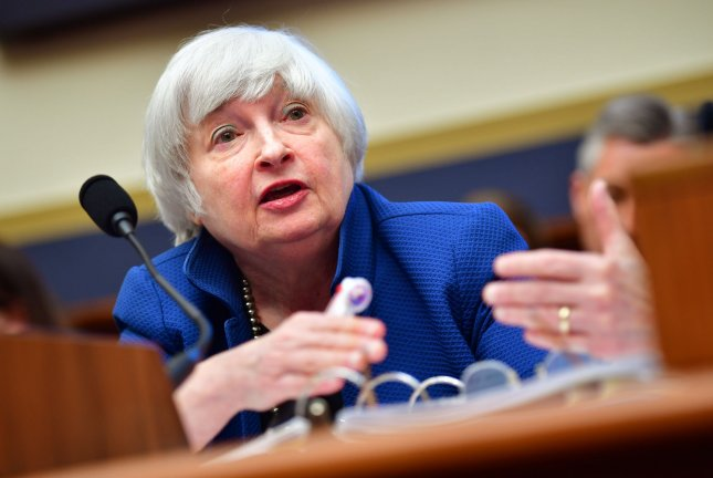 Federal Reserve Chair Janet Yellen testifies on monetary policy and the state of the economy during a House Financial Services Committee hearing Wednesday in Washington, D.C Photo by Kevin Dietsch/UPI