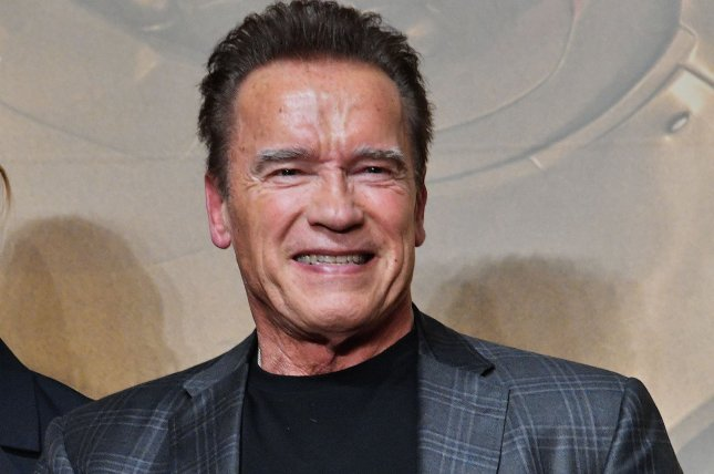 Arnold Schwarzenegger said he feels fantastic after undergoing heart surgery this week. File Photo by Mori Keizo/UPI
