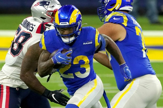 Rams Rb Cam Akers Out Vs Seahawks After Ankle Sprain Upi Com