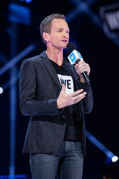 Neil Patrick Harris hosts WE Day California at The Forum in Inglewood on April 25, 2019. The actor turns 48 on June 15. File Photo by Ken Matsui/UPI