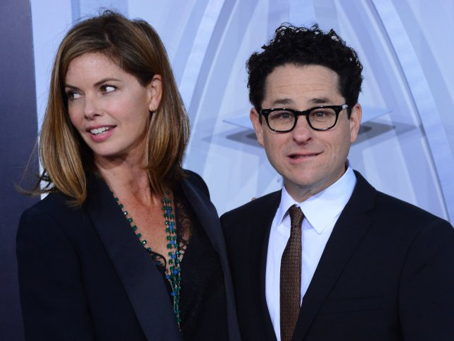 Director J.J. Abrams (R) and his wife Katie McGrath attend the premiere of the sci-fi motion picture Star Trek Into Darkness , at the Dolby Theatre in the Hollywood section of Los Angeles on May 14, 2013. UPI/Jim Ruymen