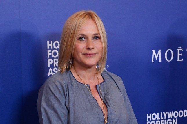 Actress Patricia Arquette attends the Hollywood Foreign Press Associations (HFPA) Grants Banquet at the Beverly Hilton Hotel in Beverly Hills, California on August 14, 2014. The HFPA's Grants Banquet present USD $1.9 million dollars in grants to non-profit entertainment related organizations and scholarship programs. UPI/Jim Ruymen