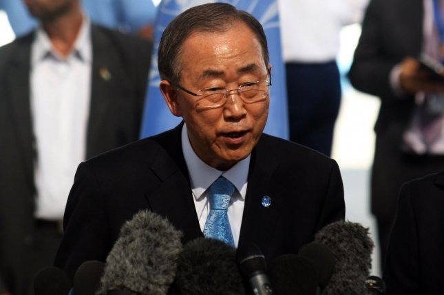 United Nations Secretary-General Ban Ki-moon said North Korea reversed its decision to allow him to visit the Kaesong Industrial Complex. File photo by Ismael Mohamad/UPI