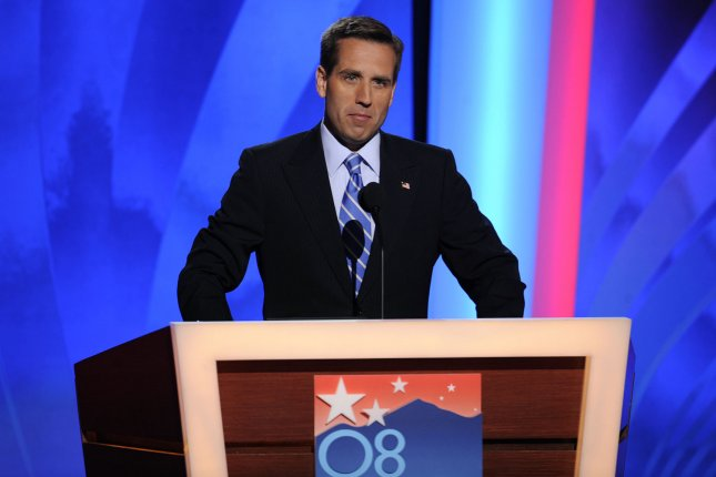 Beau Biden took to the stage during the 2008 Democratic National Convention to introduce his father former Delaware Sen. Joe Biden as he ran as the Vice Presidential candidate alongside Illinois Senator and election winner Barack Obama. File Photo by Kevin Dietsch/UPI