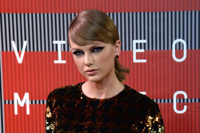 Taylor Swift at the MTV Video Music Awards on Aug. 30. The singer congratulated brother Austin Swift on his first film role Wednesday on Instagram. File photo by Jim Ruymen/UPI