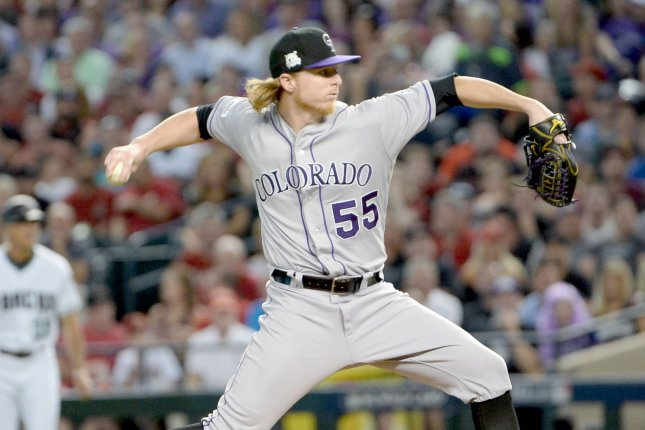 colorado rockies visit los angeles angels looking to keep pace in