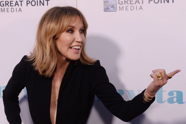 Actress Felicity Huffman attends the premiere of the