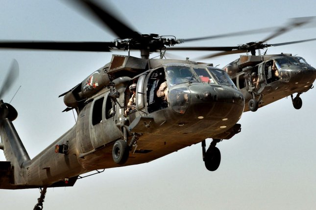A Minnesota National Guard Black Hawk helicopter, similar to the ones pictured, crashed near Pearl Lake. File Photo by Russell Lee Klika/Department of Defense
