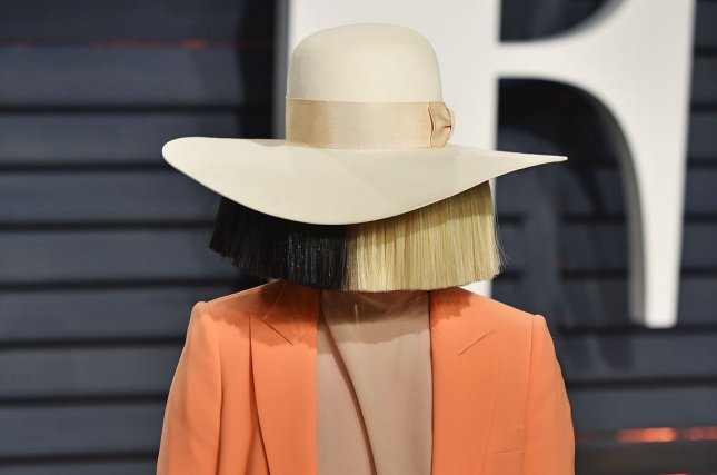 Sia, 44, announced she is a grandmother after adopting two teenage boys in 2019. File Photo by Christine Chew/UPI
