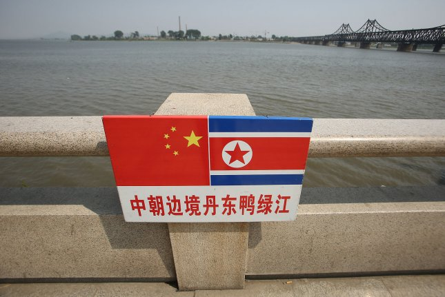 China's foreign ministry did not deny trade with North Korea could be recovering after calling Pyongyang a close neighbor on Tuesday. File Photo by Stephen Shaver