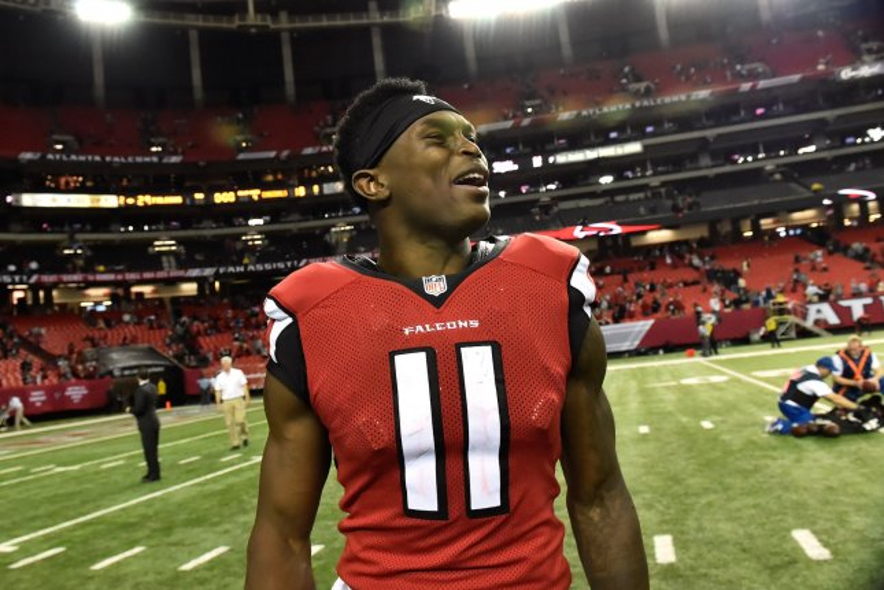 Atlanta Falcons wide receiver Julio Jones. File photo David Tulis/UPI