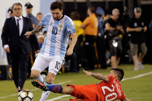 Foul-mouthed Messi banned for 4 Argentina games