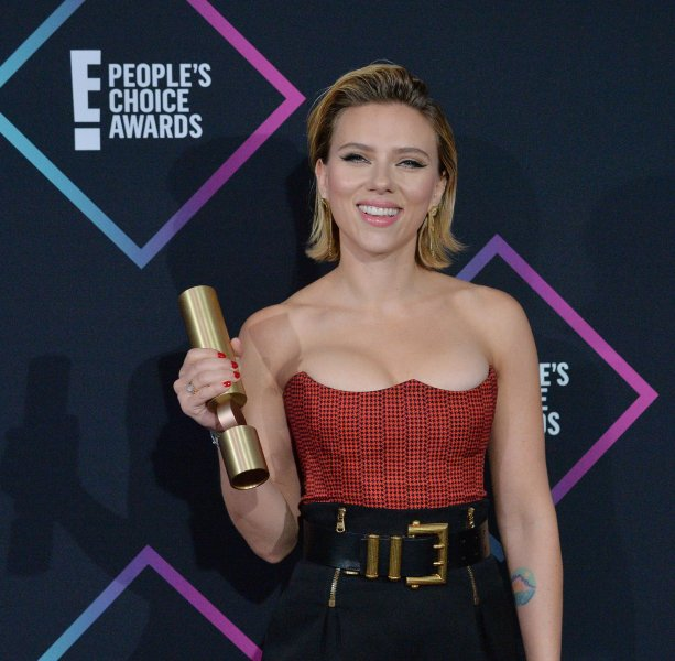 Actress Scarlett Johansson is to appear on an episode of Jimmy Kimmel Live! next week. File Photo by Jim Ruymen/UPI