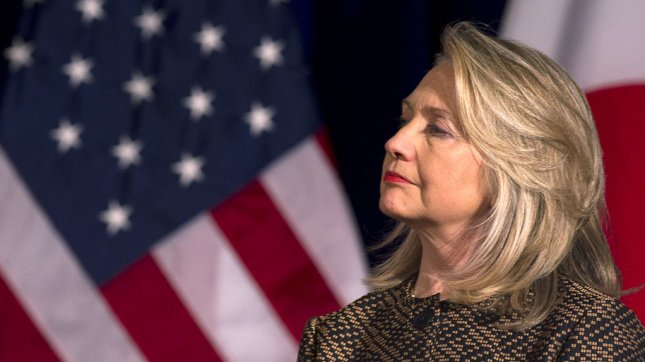 U.S. Secretary of State Hillary Clinton on April 30, 2012. UPI/Kevin Dietsch