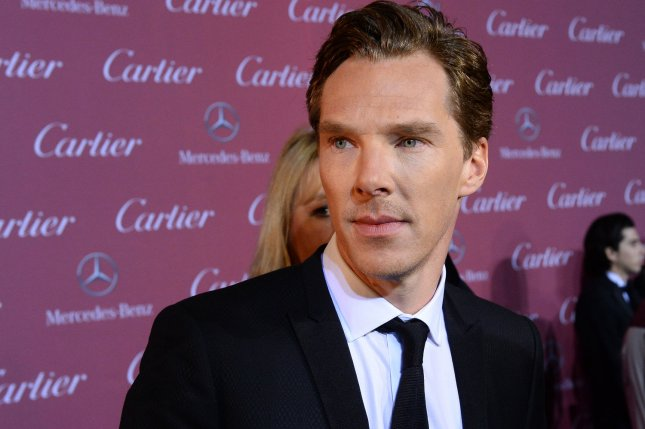 Benedict Cumberbatch attending the 26th annual Palm Springs International Film Festival awards gala on January 3, 2015. Cumberbatch stars as King Richard III in the new trailer for BBC's The Hollow Crown: The Wars of the Roses. File Photo by Jim Ruymen/UPI