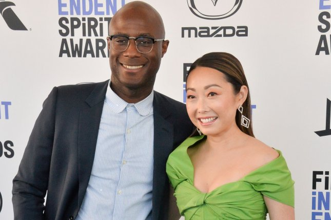 """Barry Jenkins and Lulu Wang attend the 2020 Film Independent Spirit Awards. Jenkins, """"Underground Railroad"""" executive producer, hired a therapist to help the cast throughout production. File Photo by Jim Ruymen/UPI"""