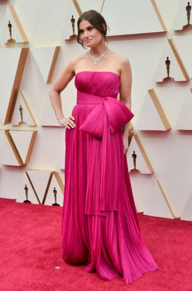 Idina Menzel arrives for the 92nd annual Academy Awards at the Dolby Theatre in the Hollywood section of Los Angeles on February 9, 2020. The actor turns 50 on May 30. File Photo by Jim Ruymen/UPI