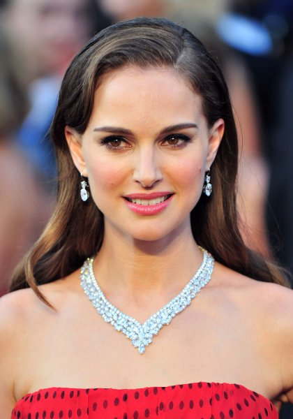 Natalie Portman arrives on the red carpet at the 84th Academy Awards at the Hollywood and Highlands Center in the Hollywood section of Los Angeles on February 26, 2012. UPI/Kevin Dietsch