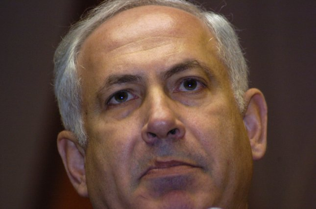 Israel will not negotiate with the Palestinian Authority if it establishes a unity government with Hamas, Prime Minister Binyamin Netanyahu said. (UPI Photo/Debbie Hill)