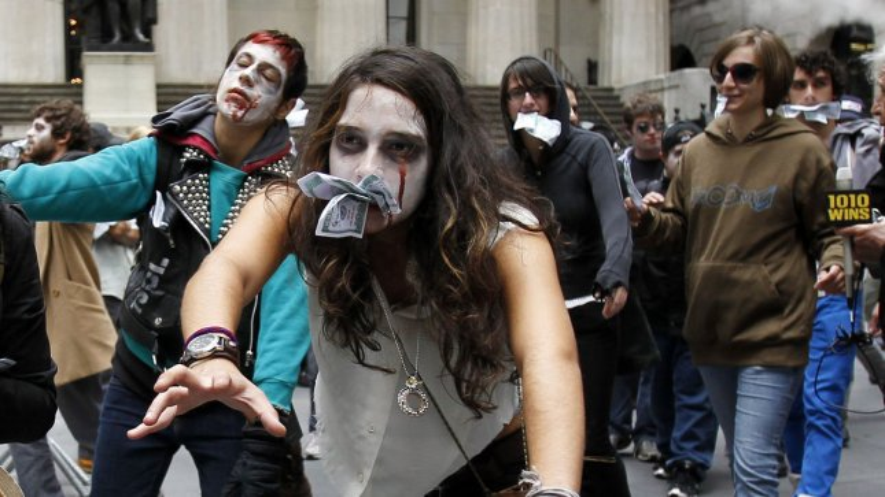 Canada to zombies: Keep out! UPI/John Angelillo