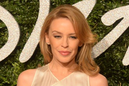 Kylie Minogue at the British Fashion Awards on December 1, 2014. File Photo by Rune Hellestad/UPI