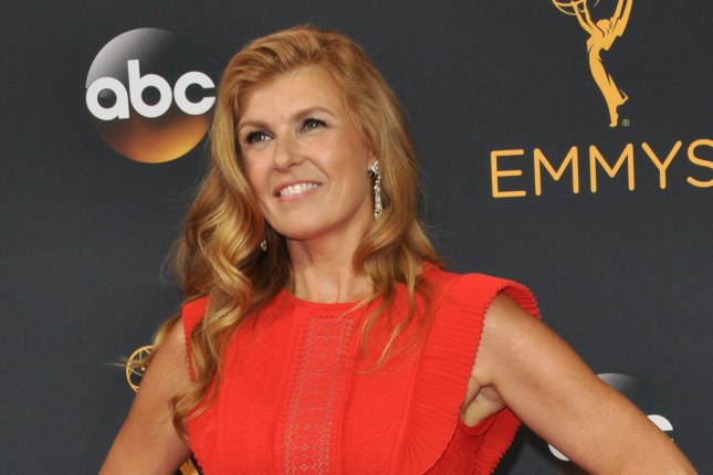 Connie Britton at the Primetime Emmy Awards on Sunday. Photo by Christine Chew/UPI