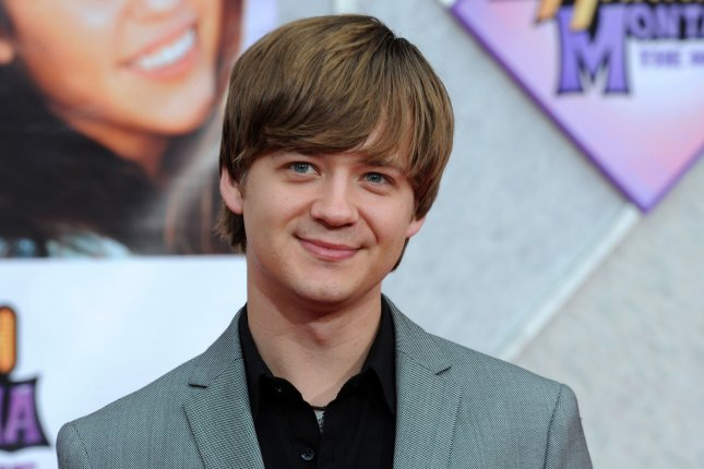 Jason Earles attends the Los Angeles premiere of Hannah Montana: The Movie on April 2, 2009. The actor tied the knot with Katie Drysen on Saturday. File Photo by Jim Ruymen/UPI