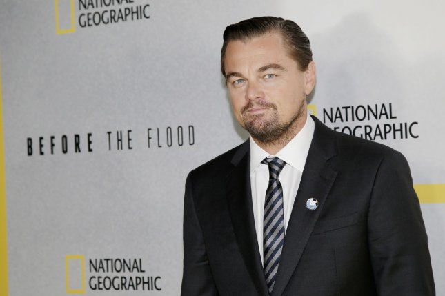 Actor and producer Leonardo DiCaprio is working with National Geographic on a series based on Tom Wolfe's book The Right Stuff. File Photo by John Angelillo/UPI