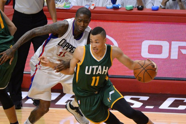 low priced e0678 a3ba3 Jazz guard Dante Exum out indefinitely following knee ...