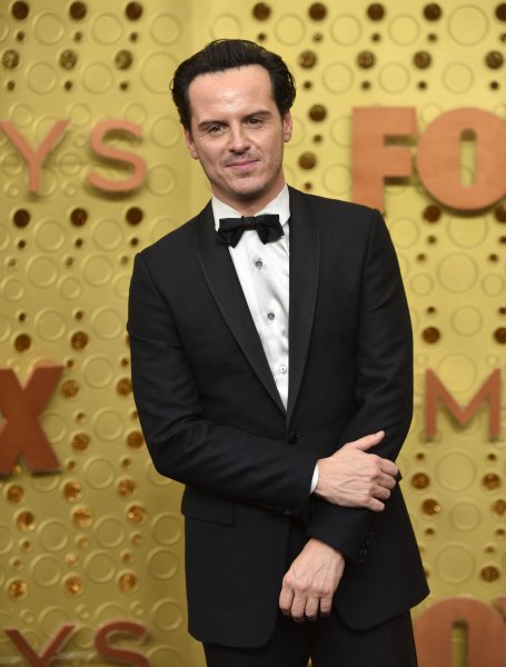 Actor Andrew Scott arrives for the 71st annual Primetime Emmy Awards in Los Angeles on Sunday. Photo by Christine Chew/UPI