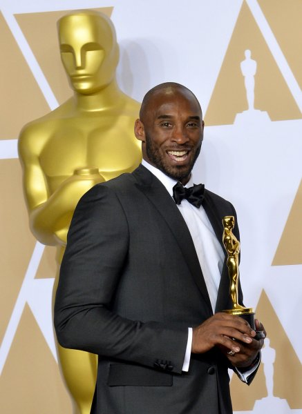 Hollywood is mourning the Sunday death of basketball legend and Oscar-winning filmmaker Kobe Bryant. He was 41 when we he died in a helicopter crash in California. File Photo by Jim Ruymen/UPI