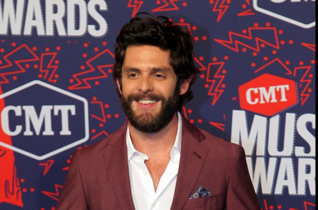 Thomas Rhett will perform across the country on his Center Point Road tour, which was previously postponed due to COVID-19. File Photo by John Sommers II/UPI