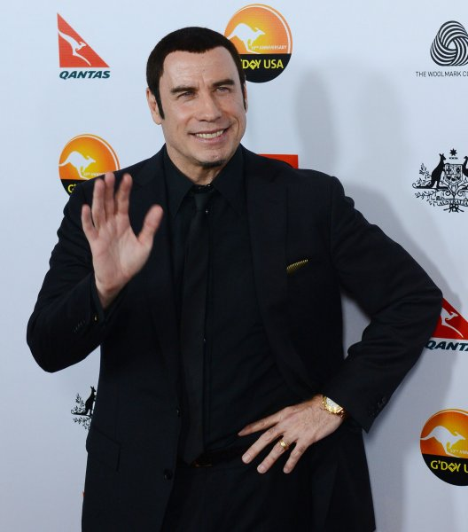 Actor and honoree John Travolta attends the G'Day USA Los Angeles gala at JW Marriott in Los Angeles on January 12, 2013. UPI/Jim Ruymen