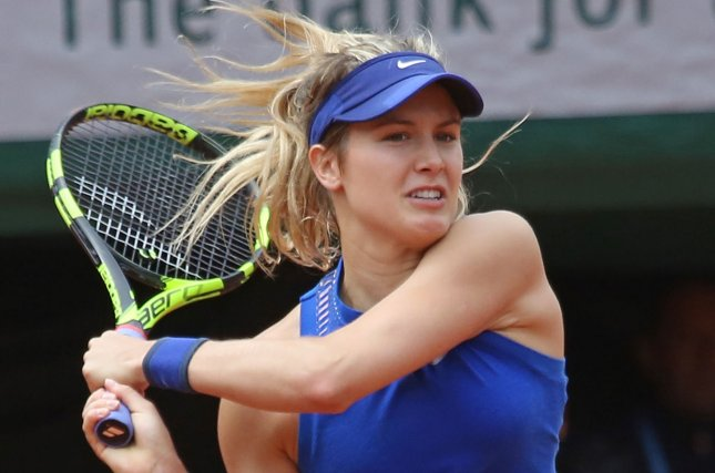 Eugenie Bouchard was not happy with Maria Sharapova returning to tennis after her doping ban and was able to dispatch her on Monday at the Madrid Open. File photo by David Silpa/UPI