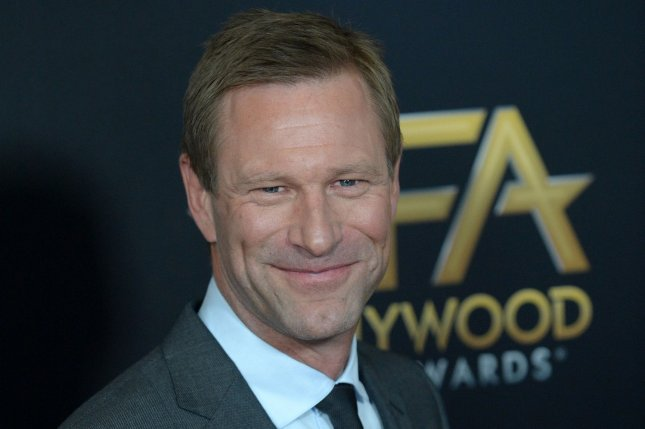 A new teaser for Aaron Eckhart's upcoming dramedy The Romanoffs is now online. File Photo by Jim Ruymen/UPI
