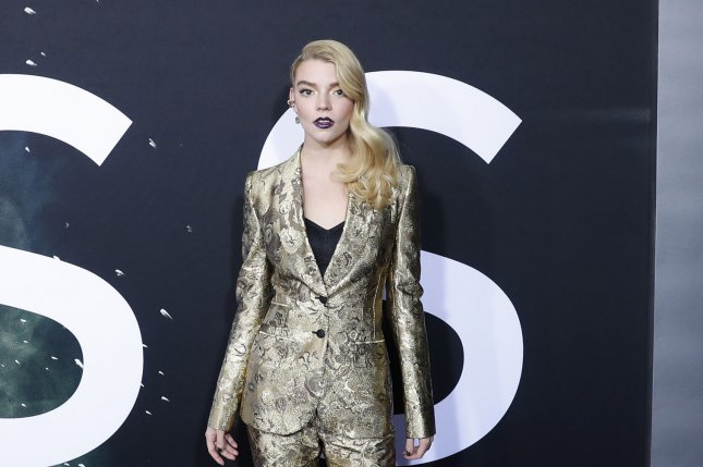 Actress Anya Taylor-Joy is to star in The Queen's Gambit series for Netflix. File Photo by John Angelillo/UPI